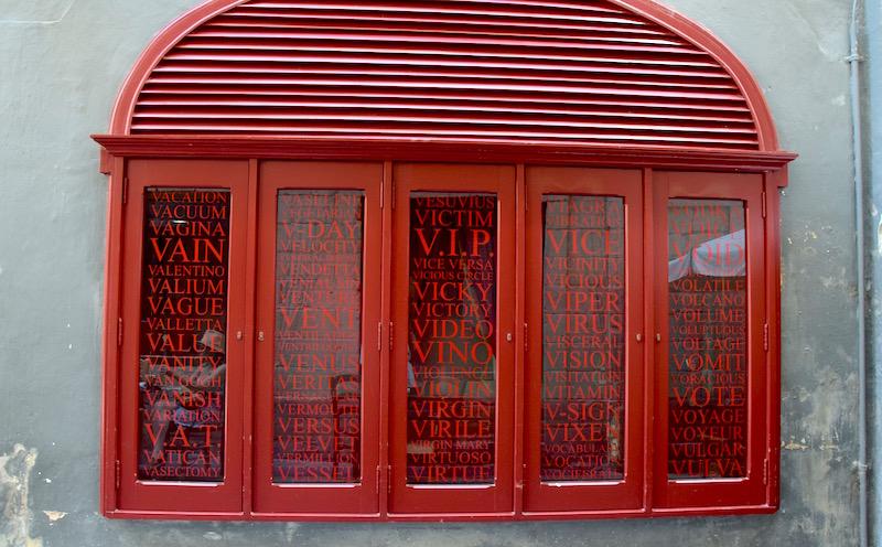 public convenience in valletta
