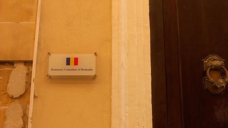 consulatul romaniei in malta