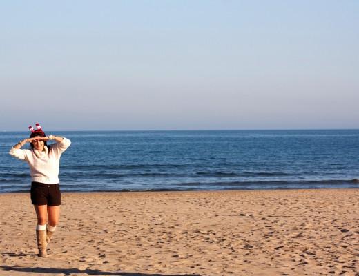 craciun pe plaja