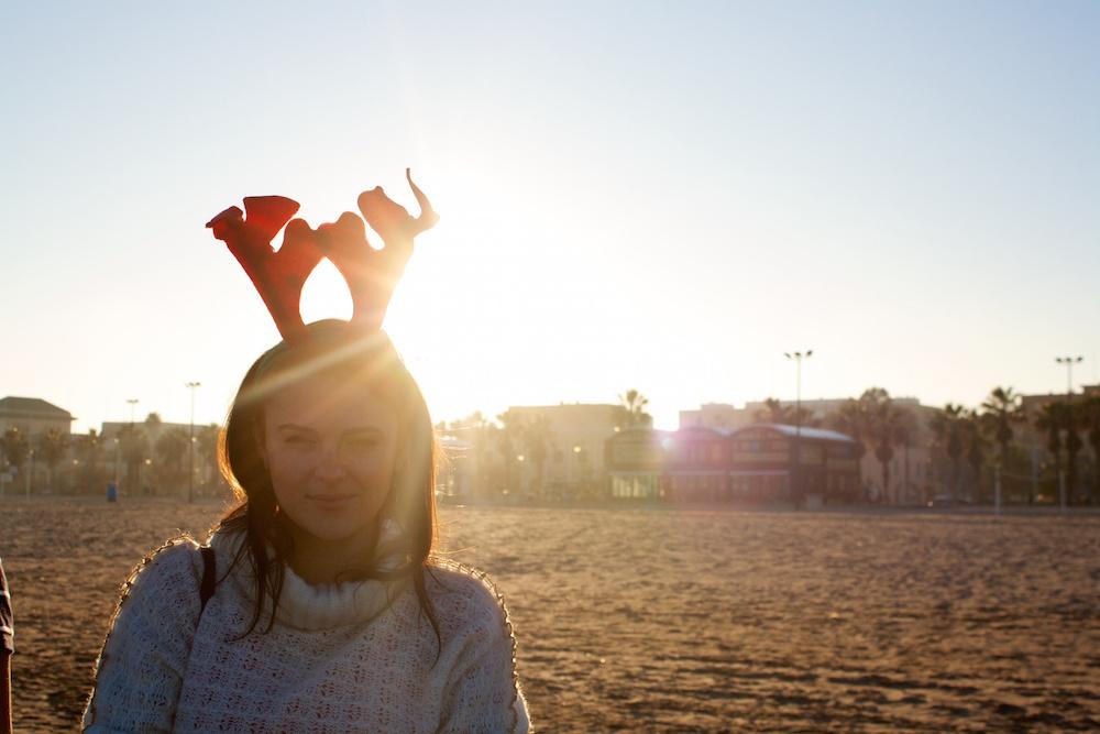 pe plaja in valencia