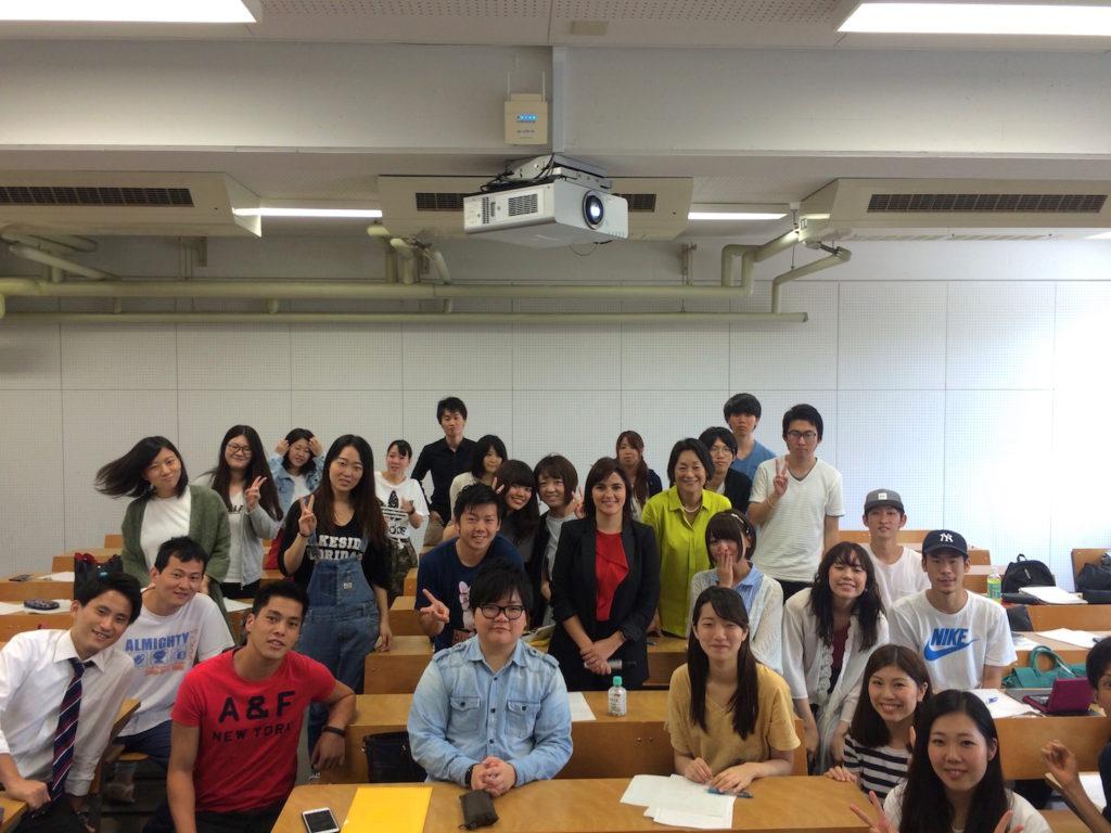 visiting professor in japan
