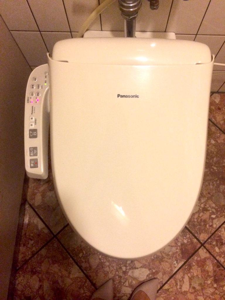 toilet de la panasonic